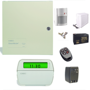 DSC Home Alarm System Example