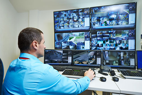 Video Security Camera Monitoring